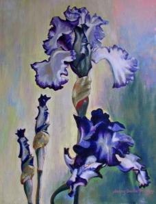 Estelle's Irises - named for a godly woman of prayer